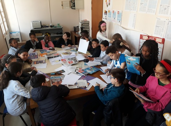 Atelier au Journal de Saint-Denis