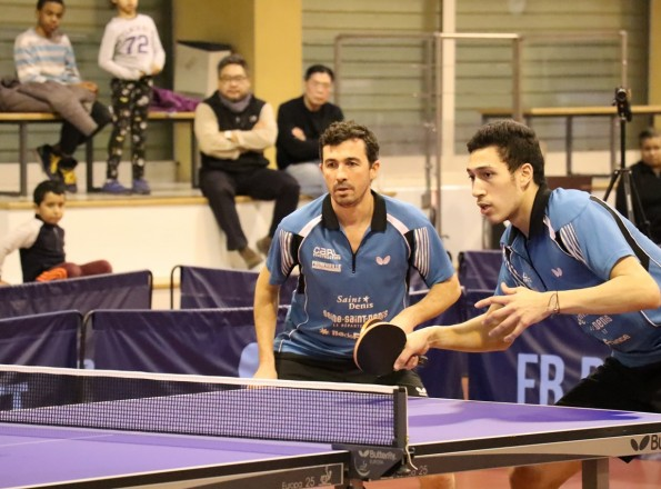 Sébastien Jover et Mehdi Bouloussa en double (photo d'archive).