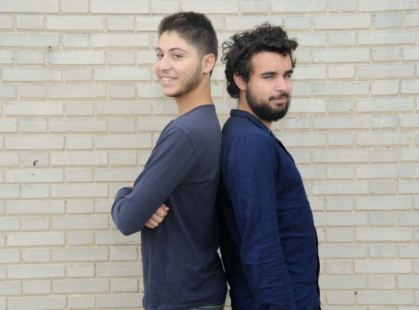 Yanis et Luca, étudiants à Paris 8 et participants, en 2016-2017, au dispositif Étudiant Engagement Solidaire.